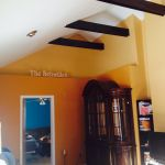 Schwille Wrapped Beams & Paint
